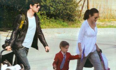 Σάκης Ρουβάς-Κάτια Ζυγούλη: Στη σχολική γιορτή της Αναστασίας