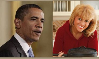 Η Μαρία Λόη μαγείρεψε για τον Ομπάμα!