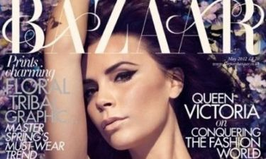 H Victoria Beckham στο εξώφυλλο του βρετανικού Harper's Bazaar