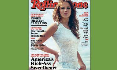 Jennifer Lawrence: Εξώφυλλο στο Rolling Stone