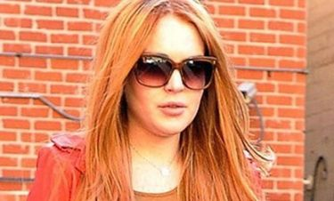 H Lindsay Lohan στο Glee