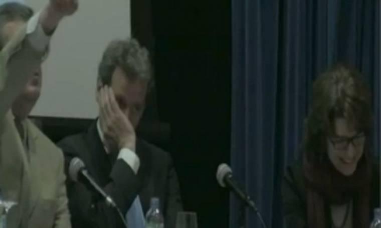 VIDEO: Γέλια μετά την ερώτηση δημοσιογράφου στον Τόμσεν για τη λιτότητα στην Ελλάδα!