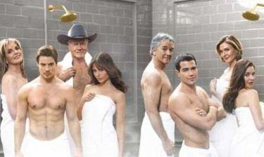 Κι όμως είναι το καστ του Dallas, μόνο με πετσέτες!