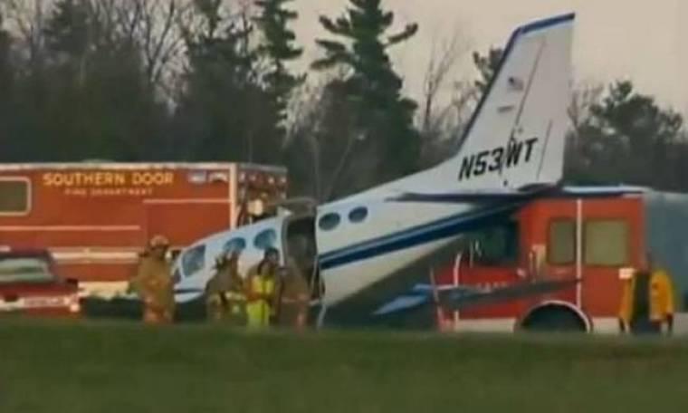 Ηλικιωμένη προσγείωσε αεροσκάφος χωρίς να ξέρει να πιλοτάρει