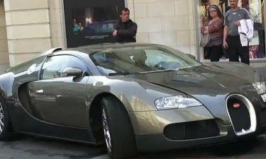Ποιος ποδοσφαιριστής οδηγεί αυτό το αυτοκίνητο;
