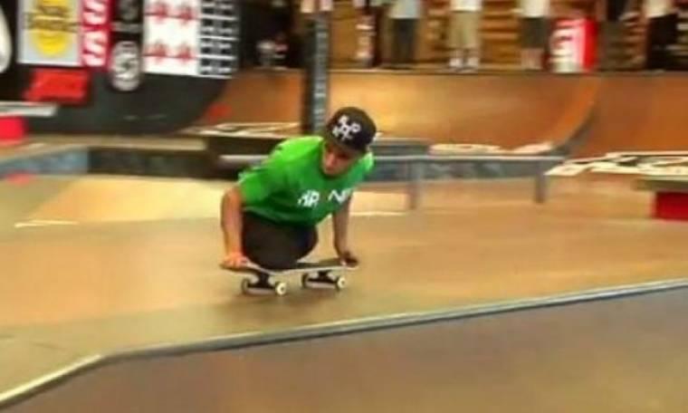 VIDEO: Ο skater χωρίς πόδια που συγκινεί το You Tube!