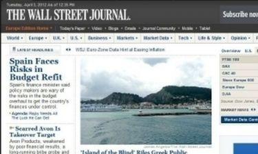 Wall Street Journal: Ζάκυνθος, το νησί… των τυφλών!