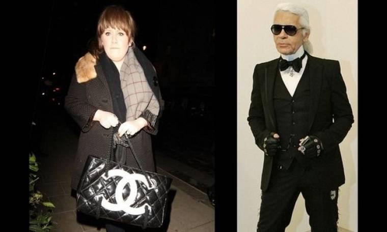 Karl Lagerfeld: Έστειλε στην Adele αξεσουάρ της Chanel για να εξιλεωθεί
