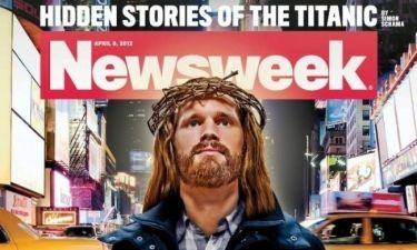 Προκλητικό εξώφυλλο του Newsweek με τον Χριστό... χίπστερ