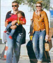 Το ταξίδι της Σκορδά με τον μικρό Γιάννη στη Θεσσαλονίκη! (φωτό)
