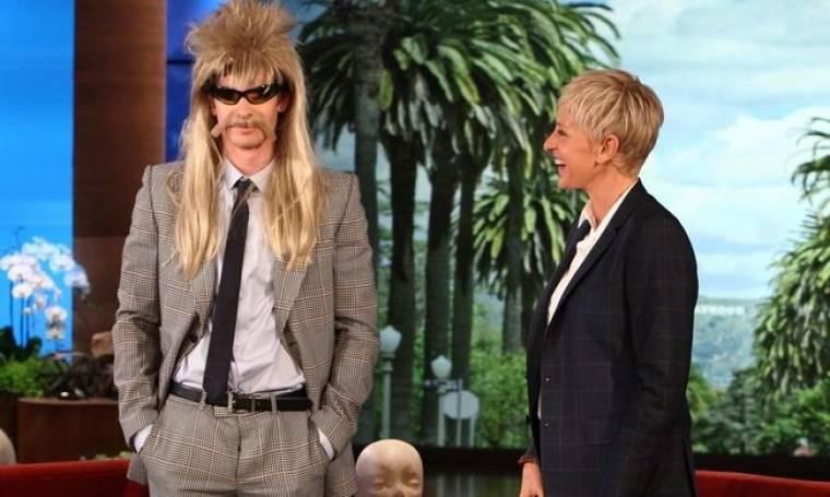 Ποιος ηθοποιός μασκαρεύτηκε για το σόου της Ellen DeGeneres;