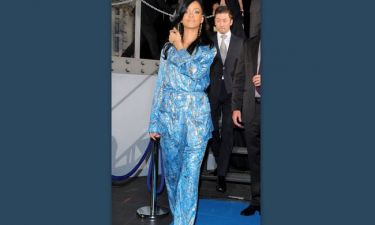 Rihanna: Φόρεσε τις πυτζάμες της στην πρεμιέρα του Battleship;