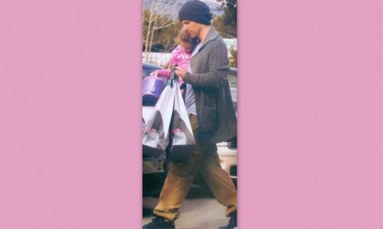 Σάκης Ρουβάς: Shopping με την κόρη του