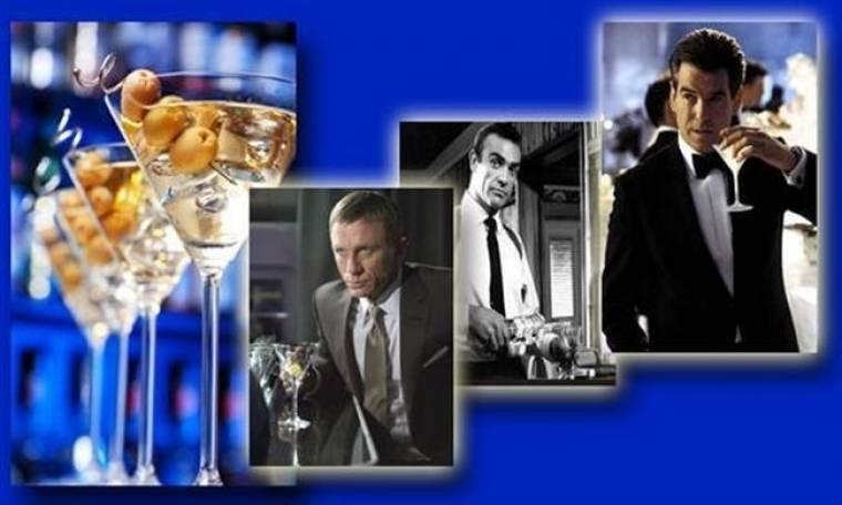 Πράκτορας 007 με μπύρα ανά χείρας…!