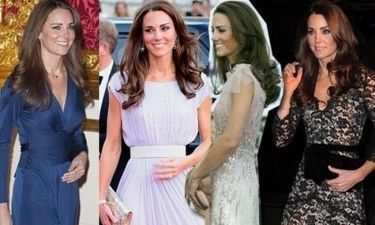 Οι fashion στιγμές της Κate Middleton γίνονται κέρινες