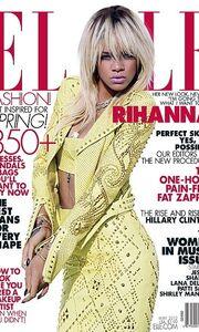 Η Rihanna φωτογραφίζεται στο Elle και δηλώνει: Θα κάνω ότι θέλω
