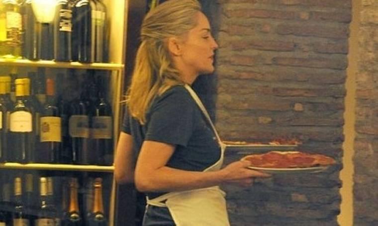 Sharon Stone: Έγινε σεφ για τους γιους της