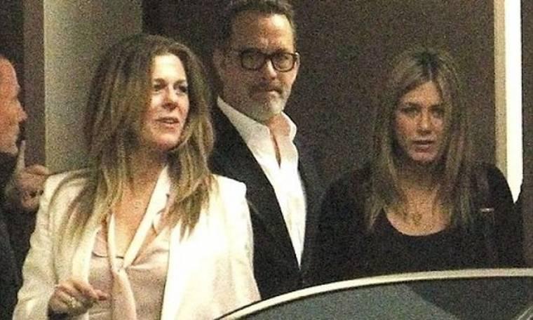 Jennifer Aniston – Justin Theroux: Ραντεβού με τον Tom Hanks και τη σύζυγό του