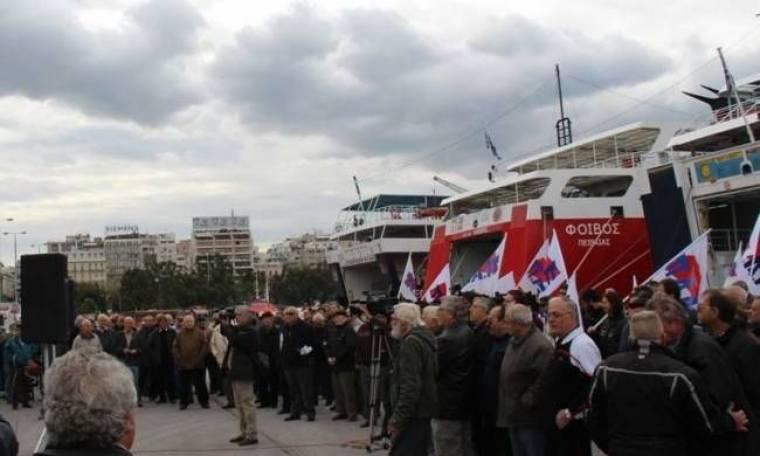 Αγωνία για την απεργία στα πλοία τη Μ. Εβδομάδα