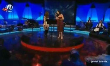 Ελευθερία Ελευθερίου: Τραγούδησε Χαρούλα Αλεξίου στην Τουρκία!