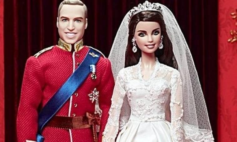 Ανάρπαστες οι Barbie του William και της Catherine