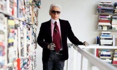 Ξενάγηση στο απίστευτο σπίτι του Karl Lagerfeld