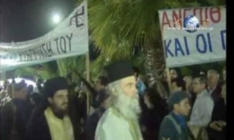 VIDEO: Άγριο κράξιμο σε πολιτικούς στο Μεσολόγγι!