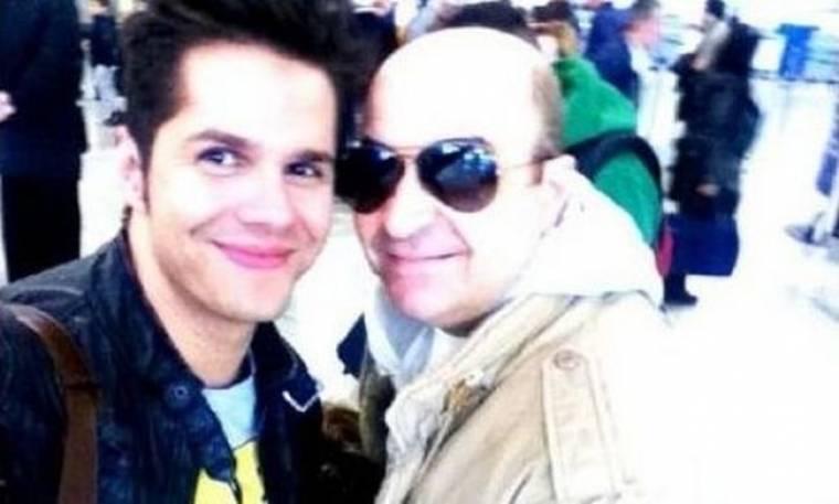 Γιώργος Τσαλίκης: Στο αεροδρόμιο για Λονδίνο!