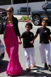 Heidi Klum: Η πρώτη εμφάνιση μετά την αίτηση διαζυγίου