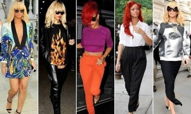 Τα τολμηρά ντυσίματα της Rihanna