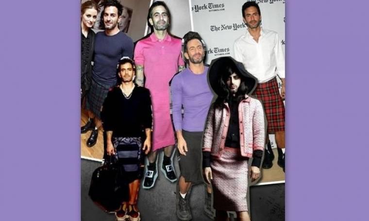 Μα πόσες φούστες έχει ο Marc Jacobs;