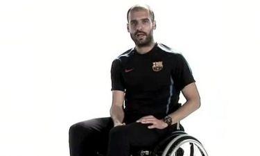 Σε αναπηρική καρέκλα ο Γκουαρντιόλα