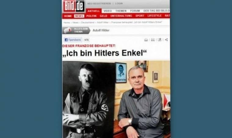 Ιδού ο εγγονός του Χίτλερ!