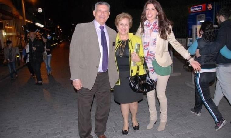 Άντζελα Ευριπίδη: Ευτυχισμένη και χαμογελαστή