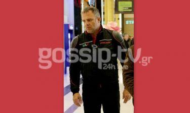 Πασχάλης Τσαρούχας: Ακόμα και στα ψώνια φοράει το μπουφάν του