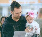 Στη Νέα Υόρκη για τη βάφτιση της κόρης τους