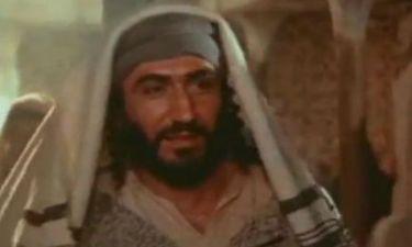 Ο Έλληνας ηθοποιός που έπαιξε στον «Ιησού από τη Ναζαρέτ» (vid)