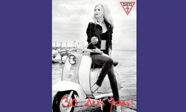 Claudia Schiffer: Φωτογράφηση αλά Brigitte Bardot