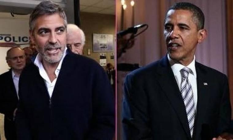 Ο George Clooney συνεχίζει να στηρίζει τον Barack Obama