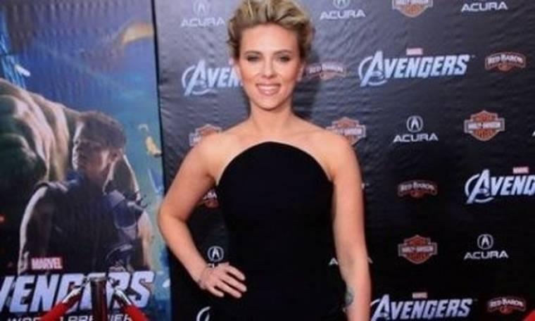 Η Scarlett Johansson στην πρεμιέρα της ταινίας «The Avengers »