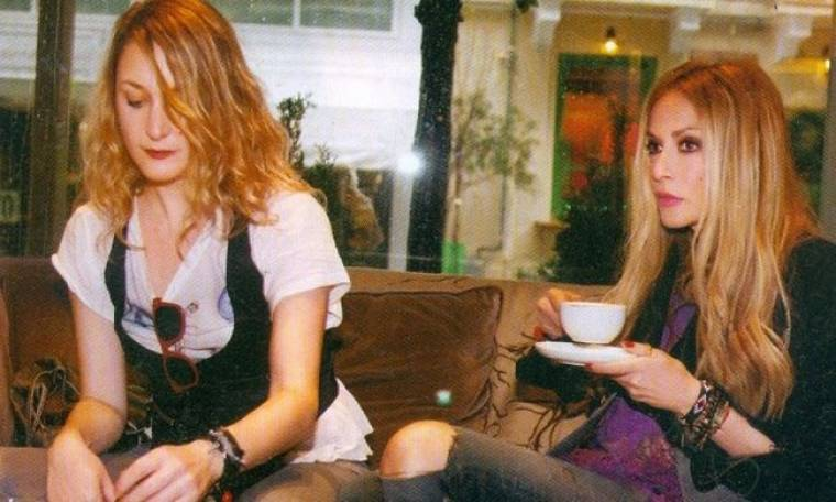 Άννα Βίσση: Καφεδάκι με την κολλητή της