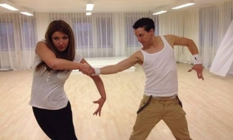 Δείτε την τρίτη πρόβα της Έλενας Παπαρίζου για το «Let's Dance»