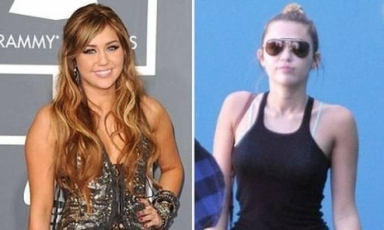 Η Miley Cyrus συρρικνώθηκε