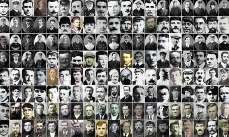 Τιτανικός: Τα πορτρέτα του πληρώματος