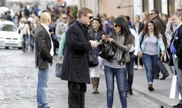 Ο Alec Baldwin πήγε για ψώνια στη… Ρώμη