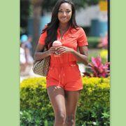Ένα smoothie για την Miss Bahamas