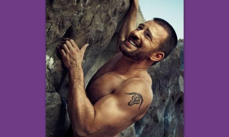 Chris Evans: Και ορειβάτης για μια φωτογράφηση