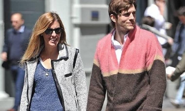 Ποια είναι η κυρία δίπλα στον Ashton Kutcher;