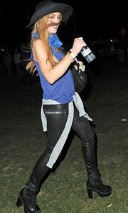 Lindsay Lohan: Ξεσάλωσε στο φεστιβάλ της Coachella