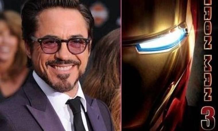 Ο Robert Downey Jr μιλάει για το Iron Man 3